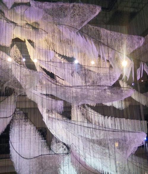 Chiharu Shiota - Le Bon Marche