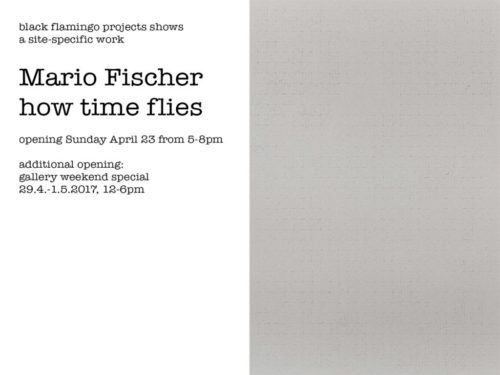 Mario Fischer - how time flies