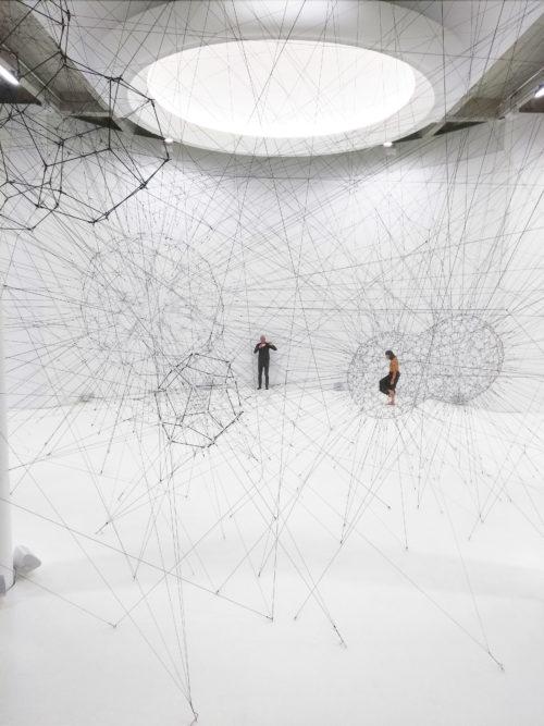 Tomas Saraceno - Palais de Tokyo - On Air