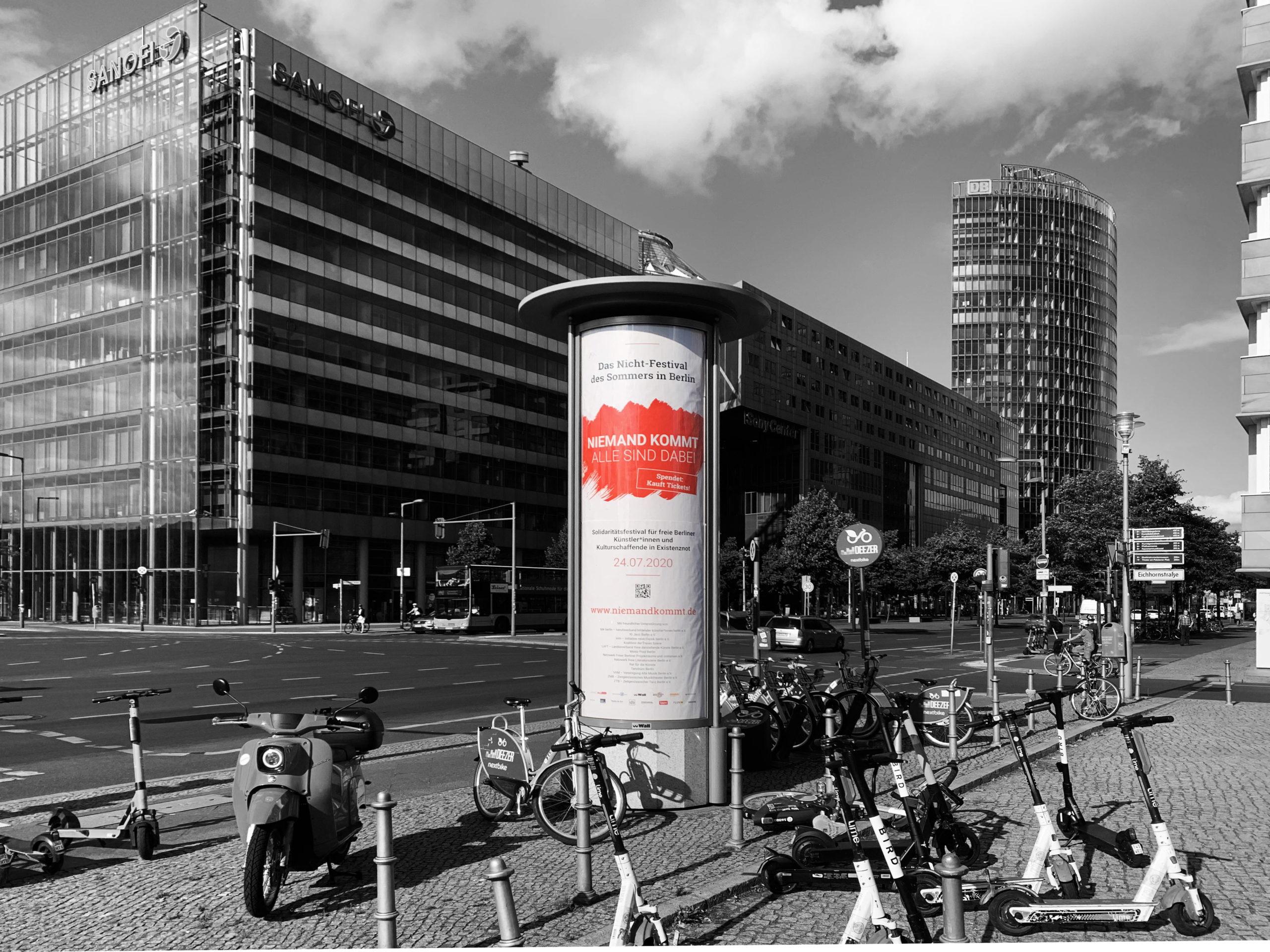 Niemand kommt - Potsdamer Platz